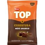 Chocolate Fracionado Top Meio Amargo 1,050kg Harald em Gotas