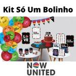 Kit Só Um Bolinho Now United 89 peças Festcolor