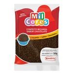Confeito Miçanga Chocolate 500g Mavalério