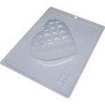 Coração Detalhes 350g BWB COD:10058 Forma de Chocolate Especial (3 partes)