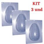 Ovo 500g Forma de Acetato com Silicone 3 partes Anelli- kit 3 und