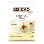 Cobertura Chocolate Sicao Mais Branco 2,05kg em Gotas