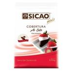 Cobertura Chocolate Sicao Mais Ao Leite 2,05kg em Gotas