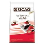 Cobertura Chocolate Sicao Mais Ao Leite 1,01kg em Gotas