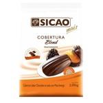Cobertura Chocolate Sicao Mais Blend 2,05kg Gotas