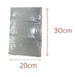 Saco Plástico PE 20X30cm Transparente 1kg-006
