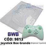 Joystick Box Grande BWB COD:9813 Forma De Chocolate Acetato com Silicone Especial (3 Partes)