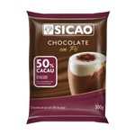 Chocolate em Pó 50% Cacau Sicao 300g