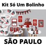 Kit Só Um Bolinho São Paulo 89 peças Festcolor