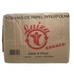 Papel Interfolha Luiza Branco 23x21cm c/1000 folhas