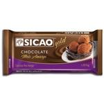 Chocolate Sicao Gold Meio Amargo 1,01kg em Barra