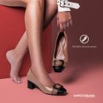Sapato Feminino Super Comfort Caramelo Sapatoterapia