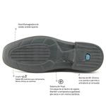 Sapato Captiva Super Leve Sapatoterapia Preto