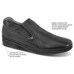 Sapato Super Leve Captiva Sapatoterapia Preto