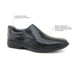 Sapato Casual New Tradicional Sapatoterapia Preto