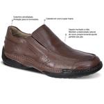 Sapato Casual Pump Sys Sapatoterapia Amêndoa