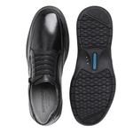 Sapato com Zíper e Elástico Sapatoterapia Carneiro Preto Virtus