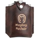 Porta Whisky Revestido em Couro - Mangalarga