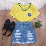 T-shirt Feminina Do Brasil