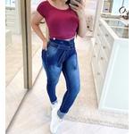 Calça Jeans Melinda   Com Cinto