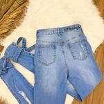 Calça Jeans Melinda - Amarração Na Barra