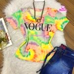 T-shirt Tie Dye| Vogue