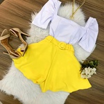 Shorts Social Gode Amarelo