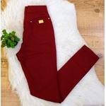Calça Jeans - Cor Vermelho