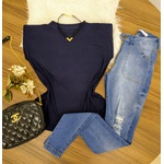 Regata Muscle Tee - Azul Marinho