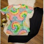 T-shirt Tie Dye - Rose