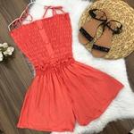 Shorts Elástico Soltinho Coral