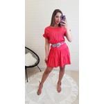 Vestido Rosa Babado