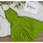 Vestido Ibiza Soltinho Verde Musgo