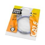 Patch cord sohoplus cat.6 u/utp cmx 2.5m az claro