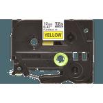 Fita flexivel tze-fx631 12mm preto/amarelo