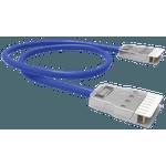 PATCH CORD 2P (VOZ) FISAFLEX - CM - RJ-45/RJ-45 - 5.0M - AZUL