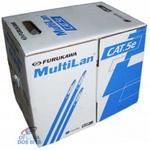 Cabo transmissao de dados multilan u/utp 24awgx4p cat.5e cm br rohs (caixa 305m)