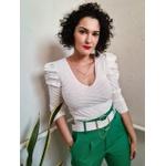 Blusa de tricot Bella - Off White