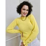 Blusa em tricot Chelly - Amarela