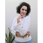 Blusa em tricot Chelly - Off White