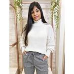 Blusa de tricot Gramado - Off White