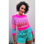Blusa em tricot Maiumy Neon