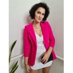 Blazer Alongado Chocomell - Pink