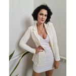 Blazer Alongado Chocomell - Off White