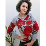 Blusa em tricot Lara - Cinza