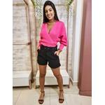 Blusa Tricot Valentina - Rosa Neon