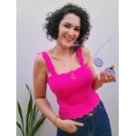 Blusa Tricot Nuvem - Pink