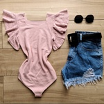 Body Tricot Isadora - Rose