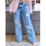 Calça Jeans Nexxo - Wide Leg