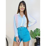 Cropped Camisa Colors